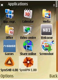 Lernprogramm Symbian VPN Schritt 2