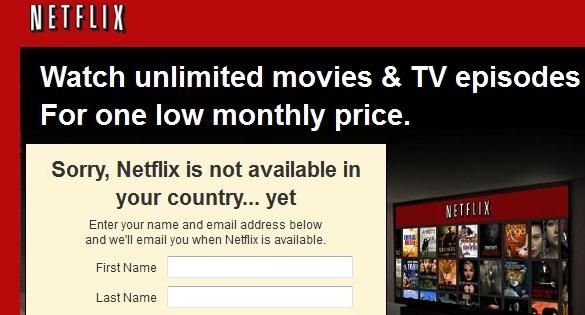 Netflix Sperre