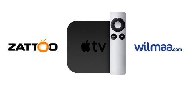 zattoo und wilmaa auf apple tv
