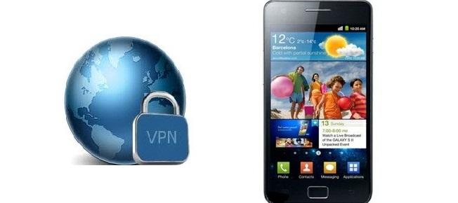 Samsung Galaxy S VPN