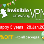 ibVPN lance ses soldes anniversaires
