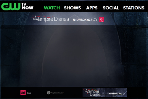 Vampire Diaries : CWTV