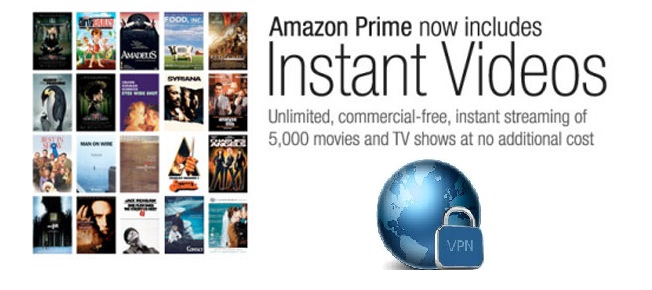 Amazon Instant Videos France