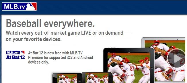 MLB tv abroad