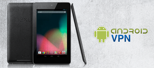 How to setup a VPN on Nexus 7