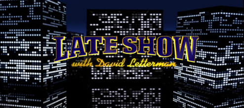 David Letterman Lateshow